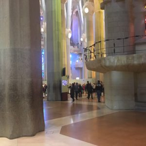Smooth floor Sagrada Familia