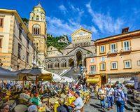 Italy Amalfi Town