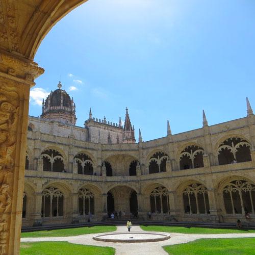 Jeronimos monestary Lisbon