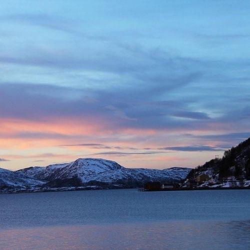 Kvaloya sunset