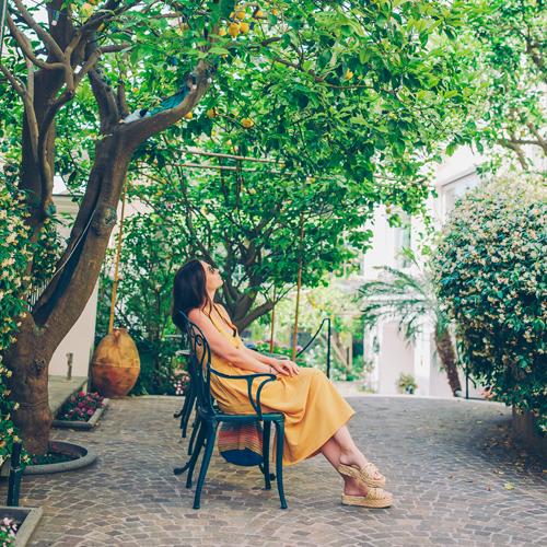 Lemon trees in Sorrento
