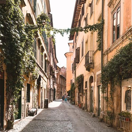 Lovely street in Rome