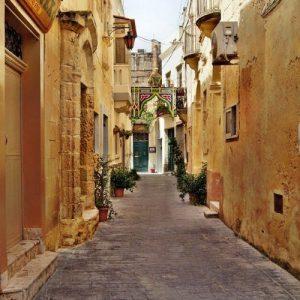 Malta narrow street