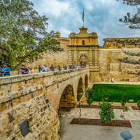 Mdina city view
