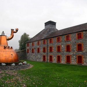 Jameson Whiskey Distillery Midleton Ireland surroundings