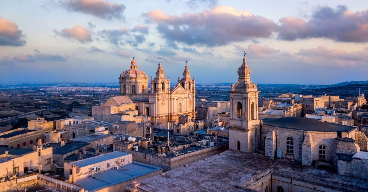 Mdina cathedral Malta Hero