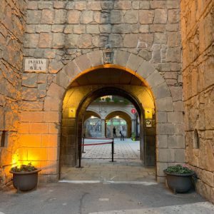 Entrance Poble Espanyol Wheelchair Accessible Activities in Barcelona