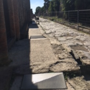 Pompeii Accessible Path one