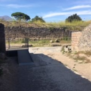 Pompeii Accessible Path