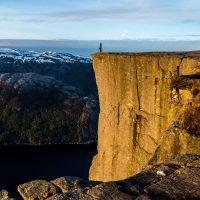 Pulpit Rock Stavanger Norway Lysefjord