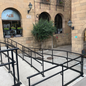 Ramp Poble Espanyol Wheelchair Accessible Activities in Barcelona
