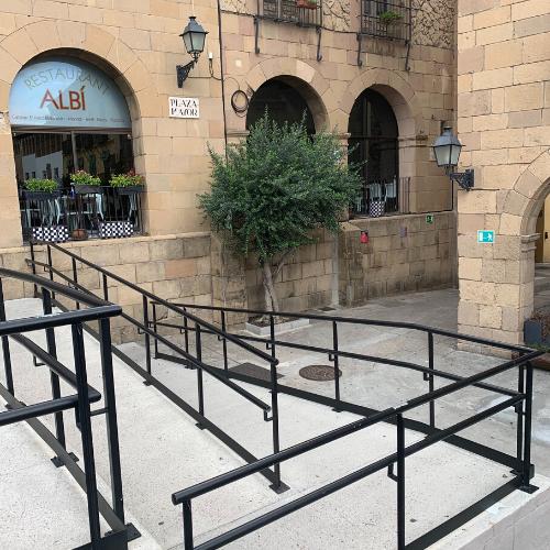 Ramp Poble Espanyol Wheelchair Accessible Activities in Barcelona