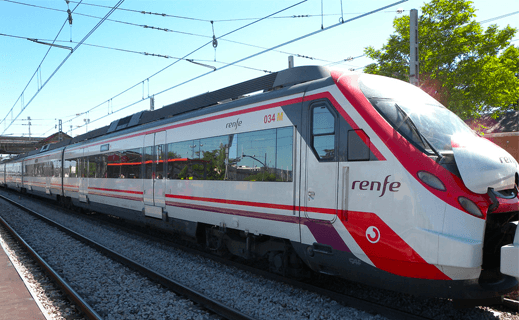 RENFE TRAIN TICKETS SPAIN