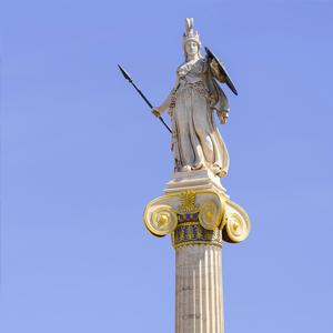 Roman Goddess Statue Athens