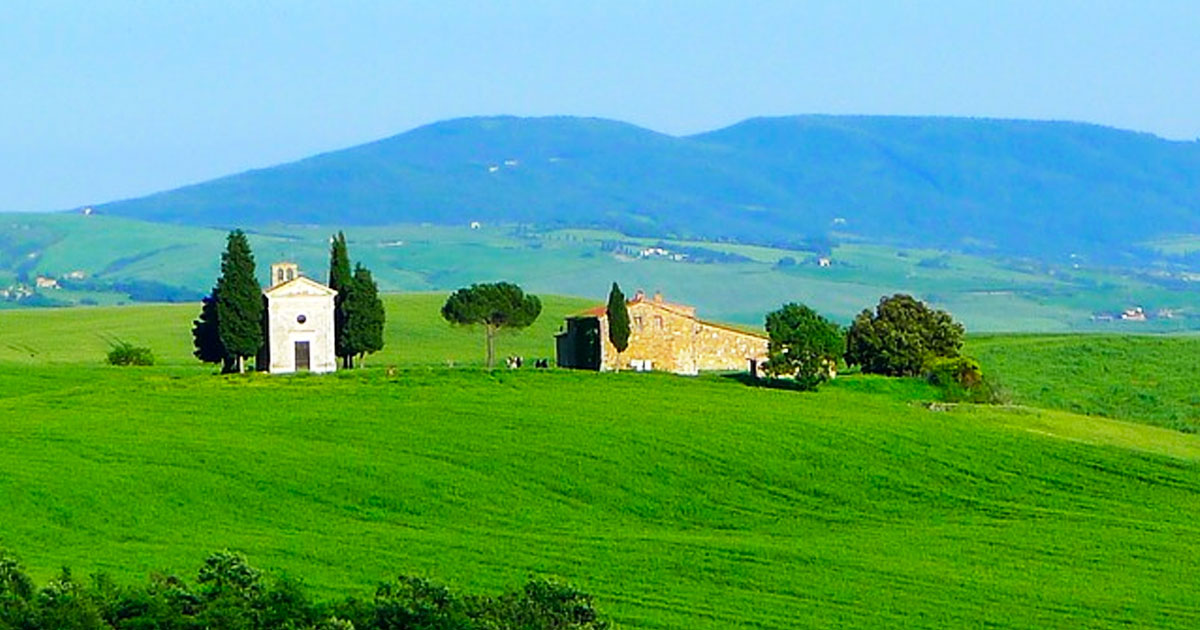 Rome to Val d'Orcia, Montalcino and Pienza Hero.