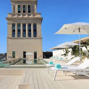 Rooftop Terrace hotel plaza catalunya