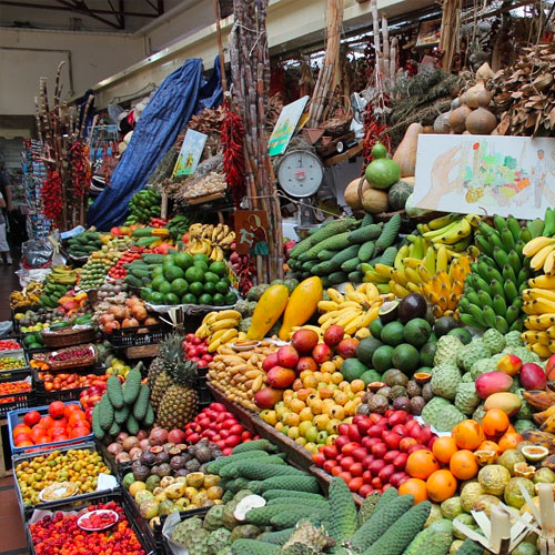 Santo Da Serra Market