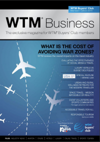 Cover of World Travel Market London 2015 Business Magazine