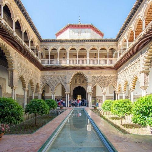 Seville real Alcázar