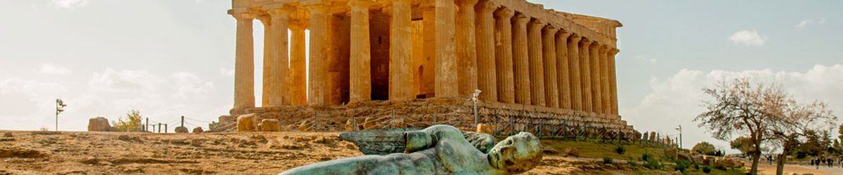 Sicilian Valley of Temples in Agrigento