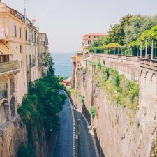 Sorrento on the coast of Campania