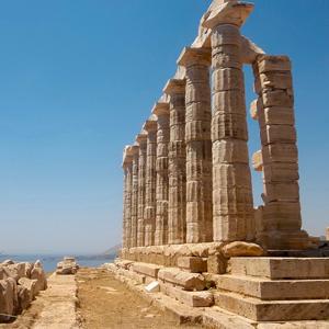 Temple of Poseidon Cape Sounion