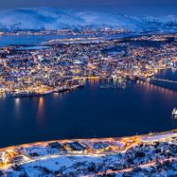 Tromso by night