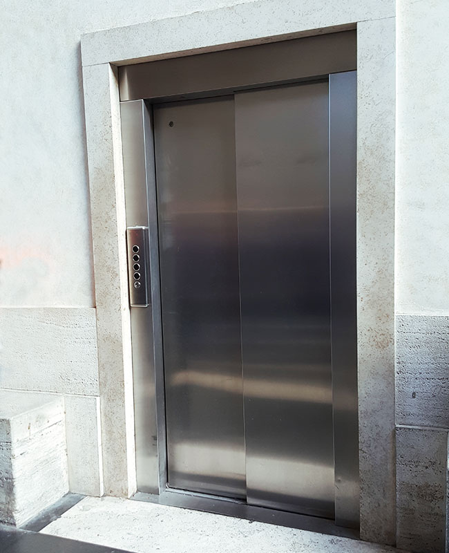 Vatican Museums Accessible Elevator