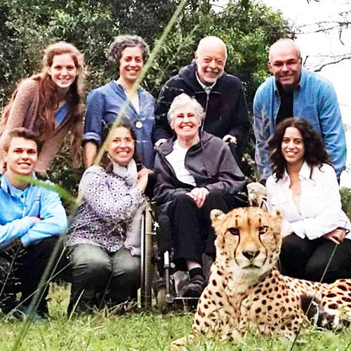 Visit the Cheetah park on safari