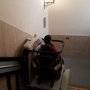 Vatican Museums Wheelchair Lift