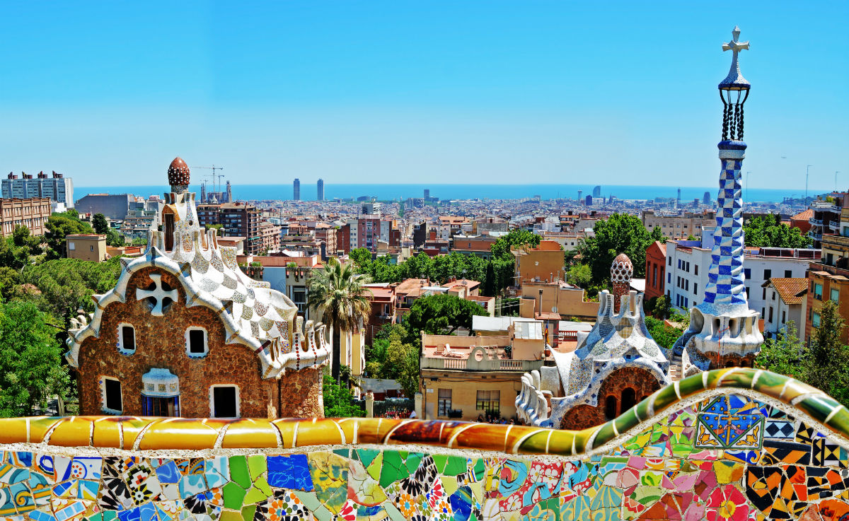 Wheelchair Accessible Barcelona Park Guell