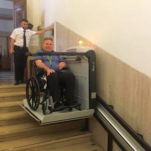 Wheelchair Lift Sistine Chapel