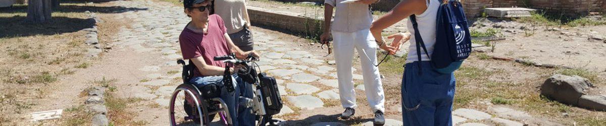 Wheelchair accessible ancient Ostia Hero