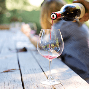 Wine Tour with brunch or snacks pooring wine