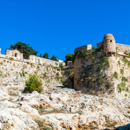 accessible flexible rethymno city tour - fort