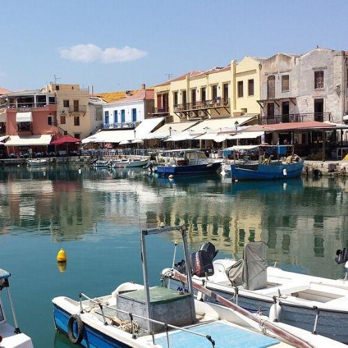 accessible flexible rethymno city tour - port