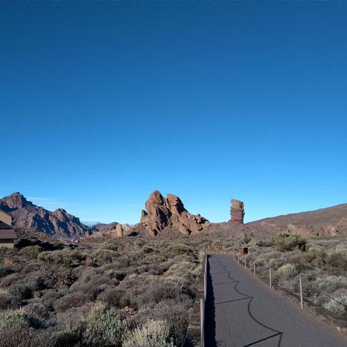 accessible path teide park Tenerife