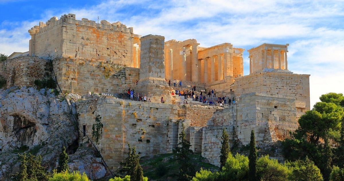 acropolis athens hero