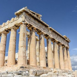 acropolis athens pillars