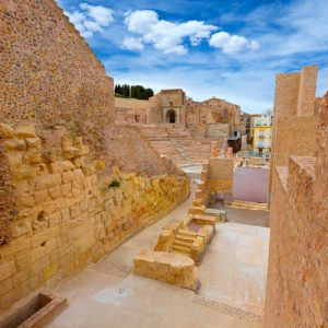 amphitheater cartagena accessible path