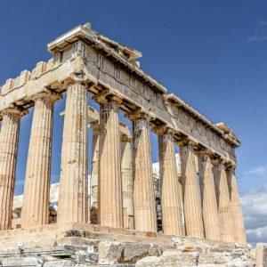 athens acropolis pillars