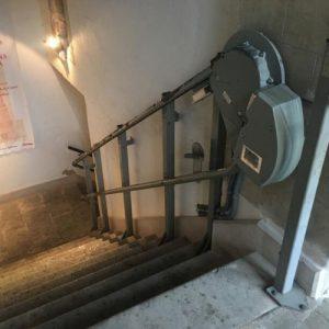 bellver castle platform lift