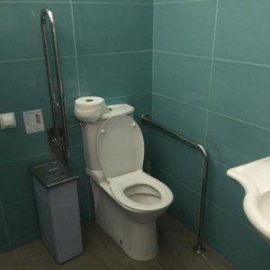 bellver castle toilet