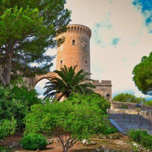 bellver castle tower
