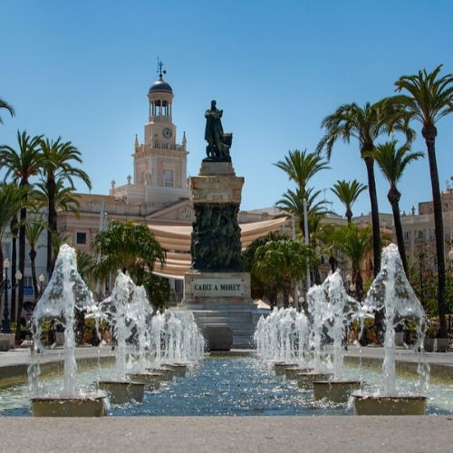 cadiz fountain