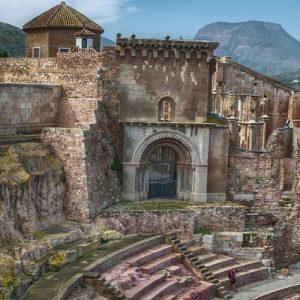 cartagena amphitheater building