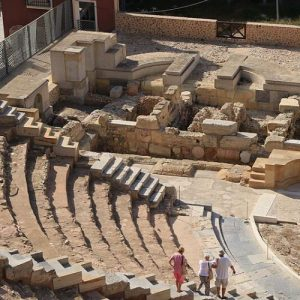 cartagena amphitheater tribune