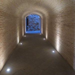cartagena roman theater tunnel