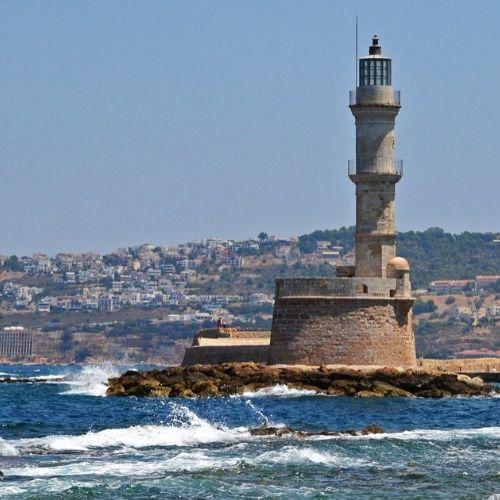 chania - lighthouse