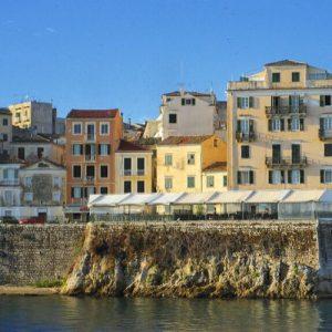 corfu historic center